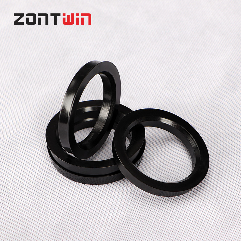 4PCS Hub Centric Ring Car Wheel Bore Center Collar 73.1-56.1 67.1-56.1 65.1-56.1 60.1-56.1 57.1-56.1mm Wheel Hub Rings