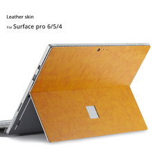 Dla Microsoft Surface Pro 6 skóra skóra skóra ochronna dla Surface pro 5 skóra skóra ochronna dla Surface pro 6 5 tanie tanio NoEnName_Null For Surface pro 6 5 Zdjęcie Tablet Skin Surface pro 6 5 Brown Red Grey Green Leather Scratch prevention