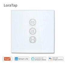 Tuya smart life wifi штора переключатель для рольставни Электрический