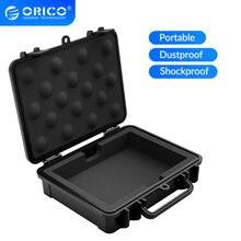 ORICO 3.5 pouces HDD boîtier de protection mallette de rangement étanche à l'eau résistant aux chocs fonction anti-poussière conception d'étiquette de sécurité