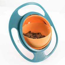 Baby Cute Baby Gyro Bowl Universal Spill-proof