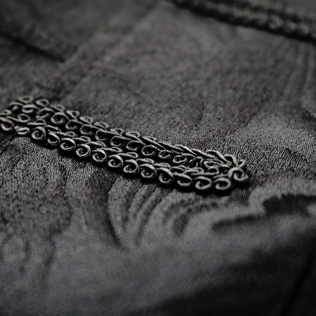 He4054e1d54f84294a39395e516ab5ea7M Men Trench Coat Steampunk Jacket Medieval Costume Men Long Sleeve Gothic Brocade Jacket Frock Vintage Stand Collar Men's Coat