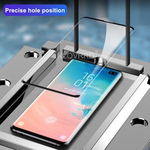 Image 3 - 3D 20D Full Curved Cover Tempered Glass for Samsung Galaxy S10E S10 5G S9 S8 Plus S7 Edge Note 8 9 A8 2018 Screen Protector Film