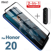 Tempered Glass For Honor 20 Lite View 20 Pro Camera Lens Protection Film On For Huawei Honor V20 20i Screen Protector Honor20(China)