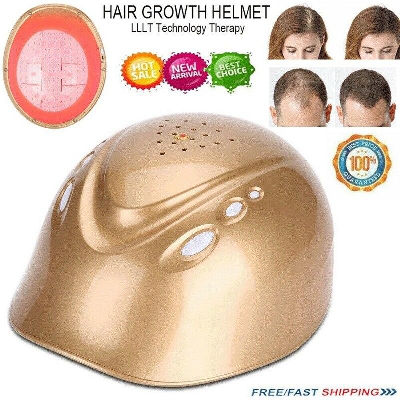 LLLT 160 diodos láser para el crecimiento del cabello casco para reducir la pérdida de cabello