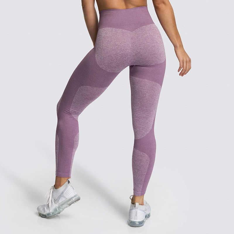 Phụ Nữ Cao Cấp Quần Tập Yoga Đẩy Lên Thoáng Khí Co Giãn Liền Mạch Quần Legging Thể Dục Quần Tập Gym Quần Chạy Bộ Thể Thao Colorvalue