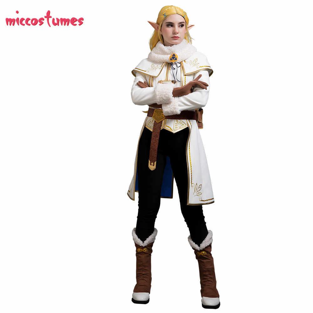 Zelda Winter Outfit Zelda Botw Cosplay The Legend Of Zelda