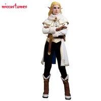 Zelda Winter Outfit Zelda botw Cosplay The Legend of Zelda Breath of the Wild Princess Zelda Cosplay Costume