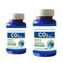 60/100Pcs akwarium CO2 Tablet dyfuzor dwutlenku węgla dla roślina wodna trawa akcesoria do akwarium