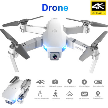 Zumbido Drone RC UAV 4K Profesional giroscopio fijo plegable de altura de...