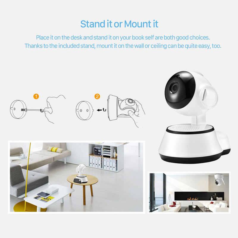 1080P baby Monitor v380 Wifi kamera IP era sieci bezprzewodowej w domu bezpieczeństwa kamera IP nadzoru kamera PTZ kamera CCTV z obsługą Wi-Fi