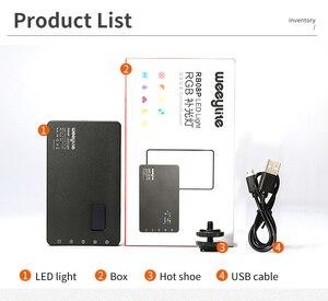 Image 5 - VILTROX Weeylife RB08P RGB 2500K 8500K Mini Video LED Light Fill Light Built in Battery for Phone Camera Shooting Studio