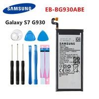 Samsung original EB-BG930ABE 3000 mah bateria para samsung galaxy s7 SM-G930F g930fd g930 g930a g930v/t g930fd g9300 + ferramentas