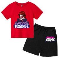 Conjuntos de verano para niños y niñas, camisetas de algodón puro + Pantalones cortos, juego de gráficos para Suits4T-14T