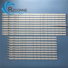 """LED תאורה אחורית רצועת 16 מנורת עבור Samsung 60 """"טלוויזיה V5DR_600SCA_R0 600SCB UN60JS700D UN60JS8000 N60KU6300 KQ601R3HA6K UE60JU6800"""
