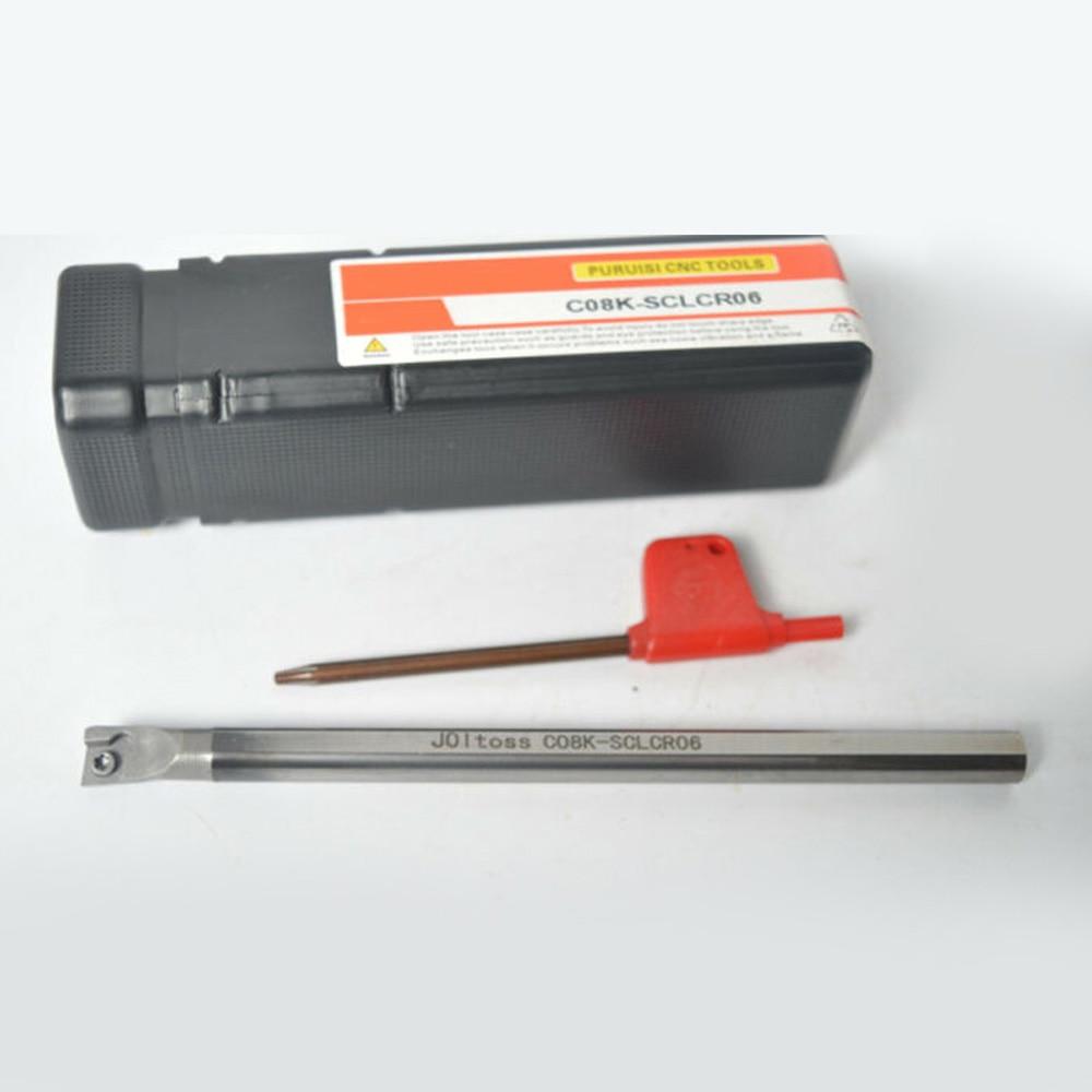 1 Set Of C08K-SCLCR06 Solid Carbide Bracket Holder Tungsten Steel Shock Tool CCMT06 New Arrivals