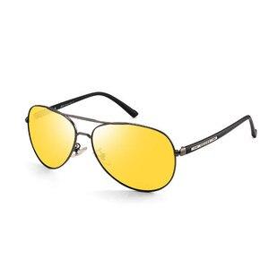 Image 3 - Очки ночного видения для мужчин и женщин, поляризационные антибликовые линзы, желтые солнцезащитные очки для вождения, ночное видение