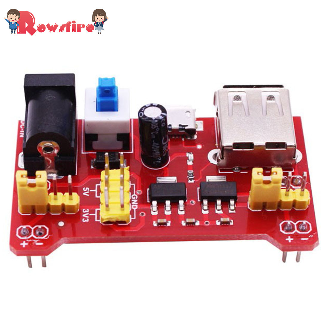 High Quality 5V Power Supply Module Breadboard Compatible With 5V 3.3V Micro:Bit Development Board
