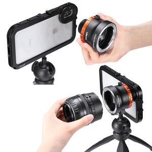 Image 4 - Ulanzi キヤノンニコン自由度自由度スマートフォン用フルフレームカメラレンズアダプタ iphone 11 E マウントレンズ一眼レフカメラ