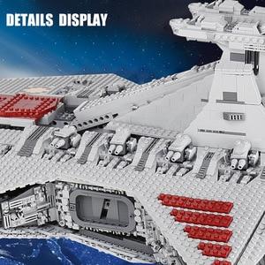Image 4 - Lepining 05077 MOC Star Set Wars lucs ST04 république Cruiser étoile destructeur jouets blocs de construction briques enfants cadeaux