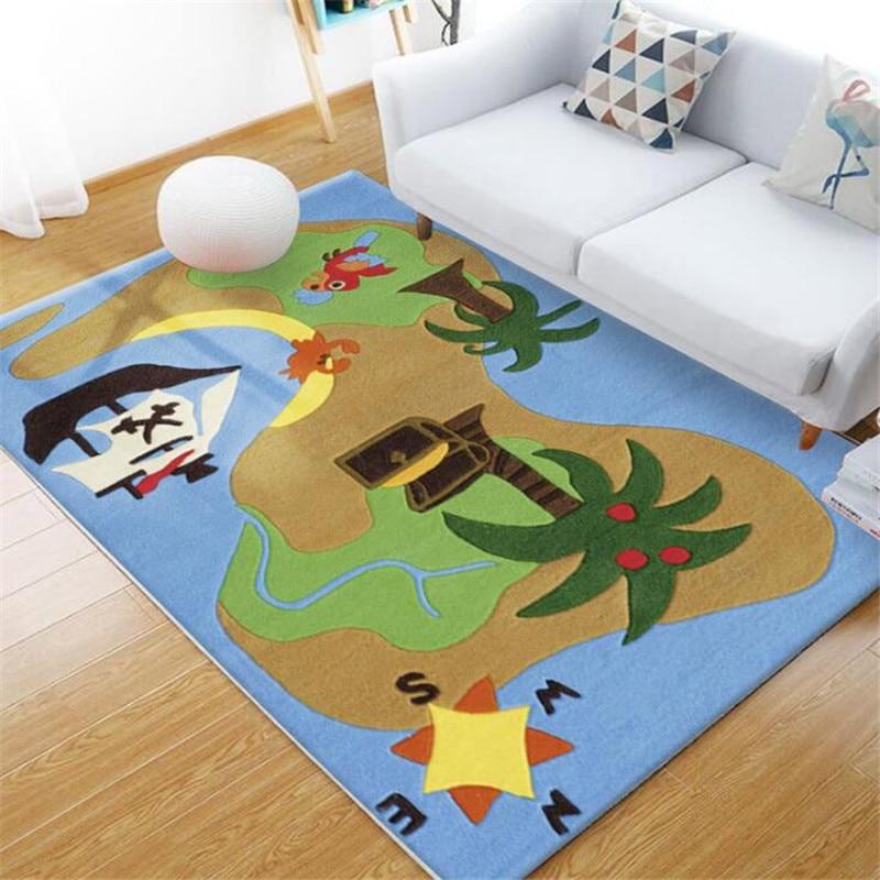 80*160cm bébé ramper tapis de jeu tapis pour enfants bande dessinée tapis antidérapant jouets enfants tapis de jeu Gym doux plancher couvertures bébé chambre décor