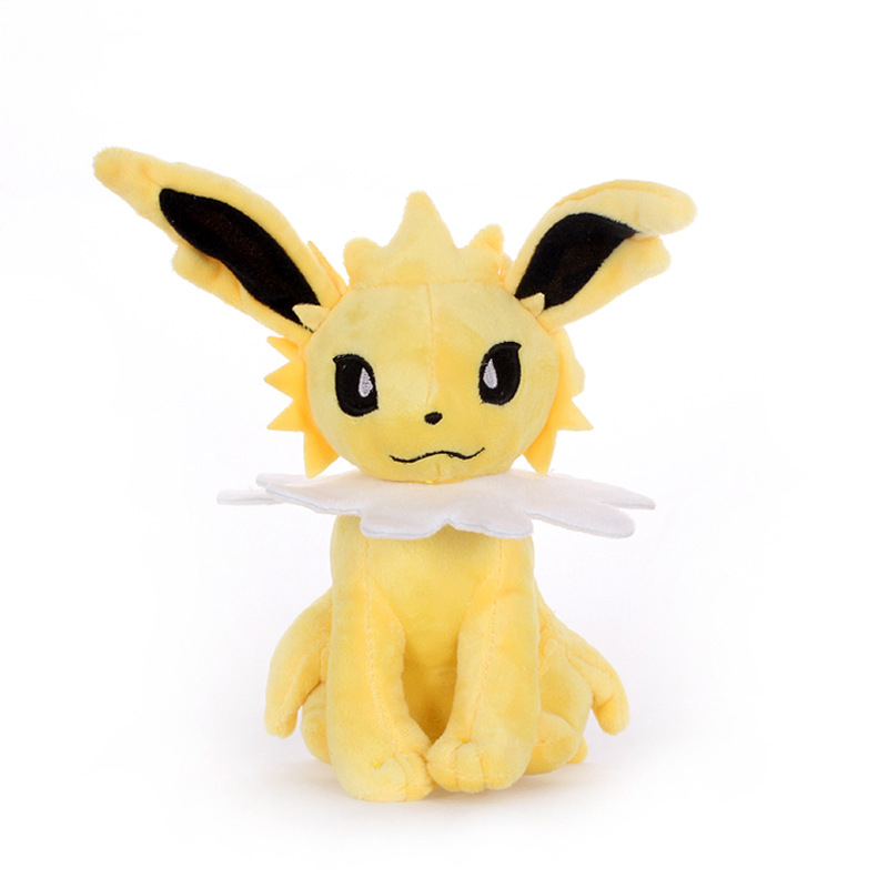 1pcs 22cm Cute Animation Jolteon Plush Toys Dolls Animation Toys Doll Plush Soft Stuffed Toys For Children Kids Gift