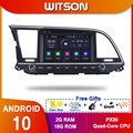 WITSON! Автомобильный DVD-плеер PX5, Android 10,0, Восьмиядерный процессор, экран 2016 дюйма IPS, 4 Гб ОЗУ 64 Гб ПЗУ, GPS-навигация для HYUNDAI ELANTRA
