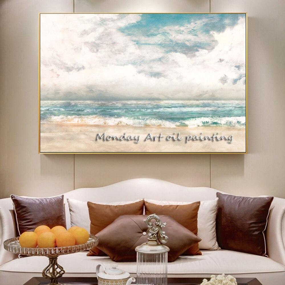 Cuadros-de-pared-arte-lienzo-pintura-abstracta-paisaje-marino-carteles-e-impresiones-lienzo-arte-impresiones-pared副本