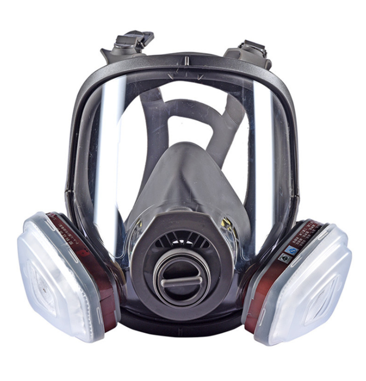 6800 Full Face-piece Gas Mask Respirator 3M Filters 6001 Chemical Industrial Protective Spraying Paint Weld Lab Dust-proof