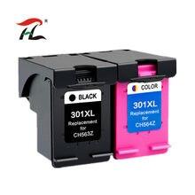 Картридж 301XL, совместимый с hp 301 xl, чернильный картридж hp301 для hp 301xl Envy 4500 Deskjet 2630 2540 1000 1050, принтер
