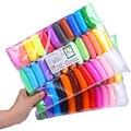 Лидер продаж, 36 цветов, супер легкие слаймы, детская сухая на воздухе глина, развивающая 5D игрушка ручной работы, подарок для детей