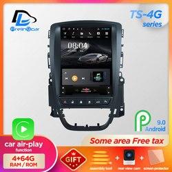 Магнитола для автомобилей Opel Astra J, мультимедийный видеоплеер на платформе Android 9.0 с вертикальным экраном, ОЗУ 4 Гб, GPS-навигацией и стереозвук...