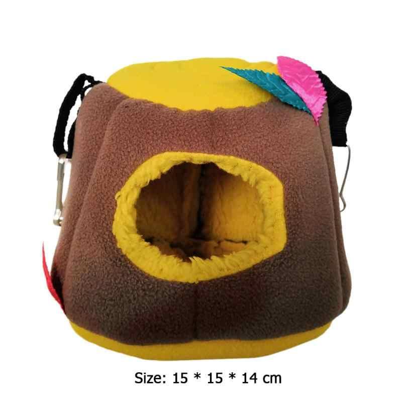 Cobaia cobaia ouriço de algodão macio casa pássaro papagaios rede esquilo inverno quente ninho esteiras sofá dormir pendurado cama pet gaiolas