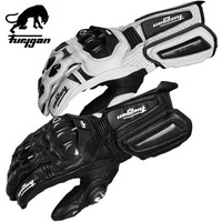 Super affordable Furygan AFS10 Motorcycle Riding Gloves Moto Racing Road Gloves Motocicleta Leather Motorbike Gloves