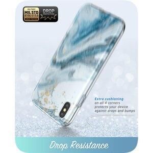Image 4 - I BLASON Cho iPhone X Xs 5.8 Inch Cosmo Series Toàn Thân Shinning Lấp Lánh Đá Cẩm Thạch Ốp Lưng Ốp Lưng Với Xây Dựng Bảo Vệ Màn Hình Trong