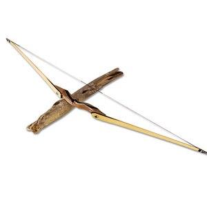 Image 5 - 1pc 62 zoll Bogenschießen Longbow 25 55lbs Amerikanischen Jagd Bogen Laminierung Bogen Gliedmaßen Ausbildung Taget Schießen Jagd Zubehör