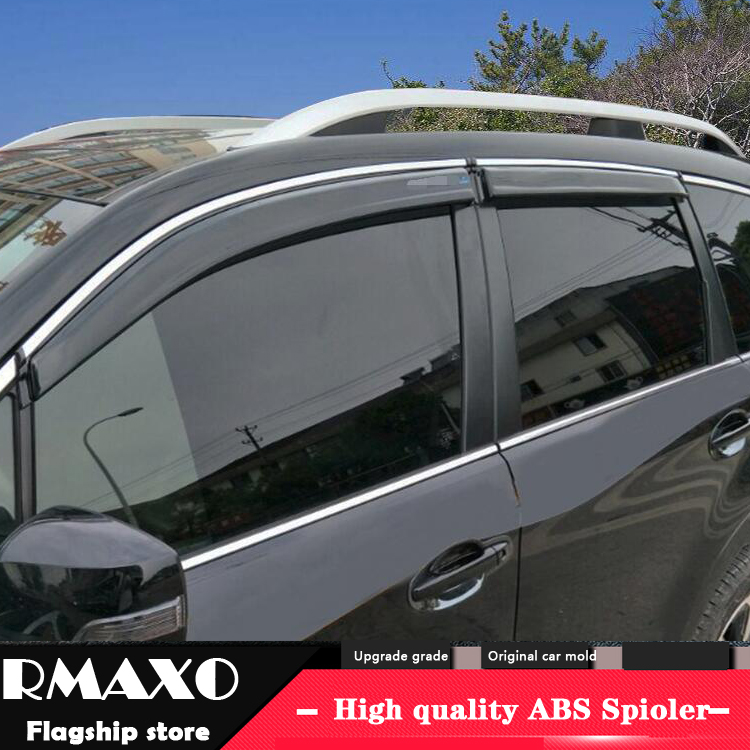For SUBARU Forester Plastic Window Visor 2013-2017 Vent Shades Sun Rain Deflector Guard For  SUBARU Forester 4PCS/SET