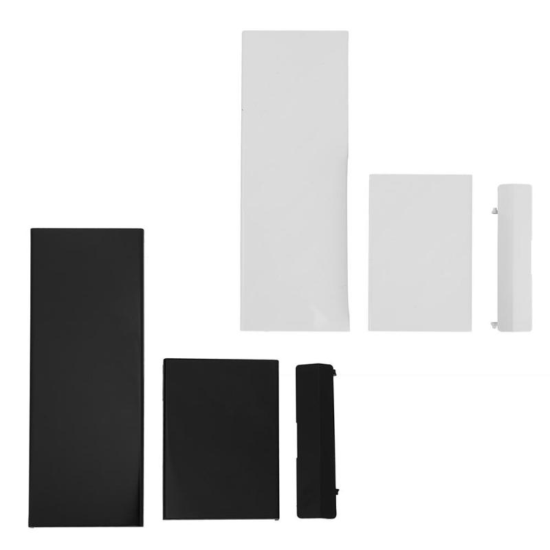 Plastic Memory Card Door Slot Cover Controller Door Cover Protective Shells Lids Replacement For Nintendo Wii Game Accessories