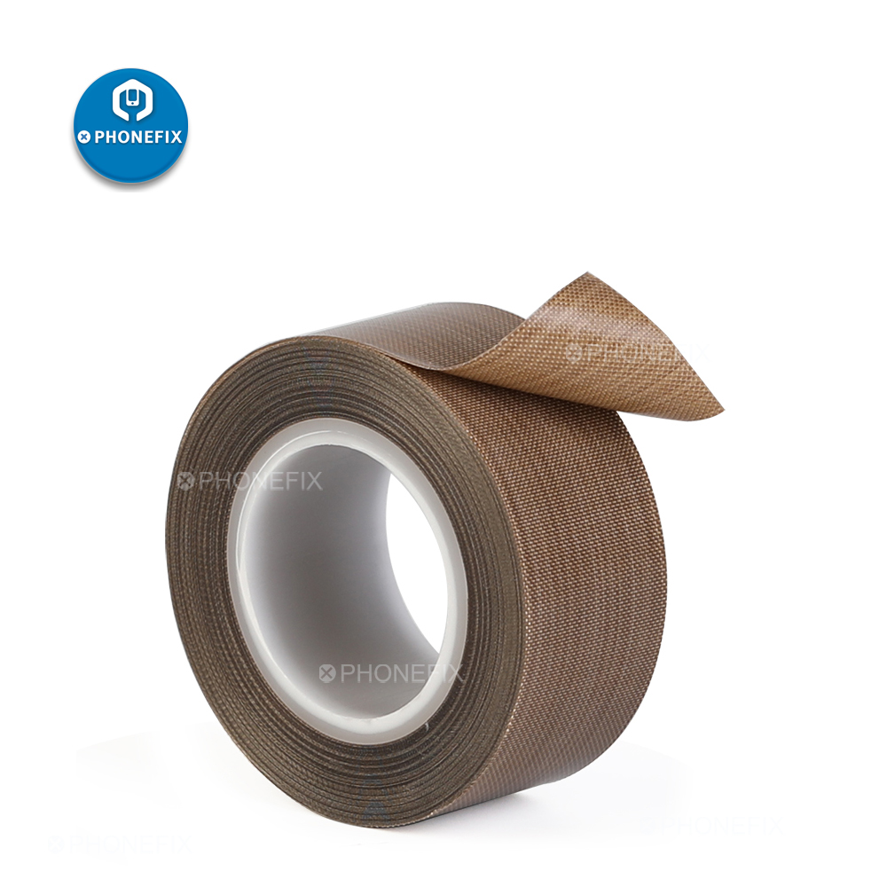 High Temperature Adhesive Insulation Tape Heat Resistant Polyimide Tape 19mm Width For Electronic BGA PCB SMT Soldering Tape