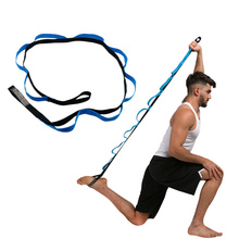 Gymnastics Yoga Pull Strap Belt Professional Training Band Loop Elastic Stretching Rope Fitness Exercise Stretch Resistance Band