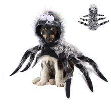 Хэллоуин Карнавал pet spider одежда фестиваль украшение для