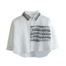 Весенне-осенняя рубашка для мальчиков детские рубашки с длинными рукавами Свободная хлопковая рубашка для маленьких мальчиков повседневная одежда для мальчиков 90-140 см, BC646