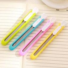 Stationery Paper-Cutter Utility-Knife School-Tools-Supplies Office Mini 1pcs Photo-Box