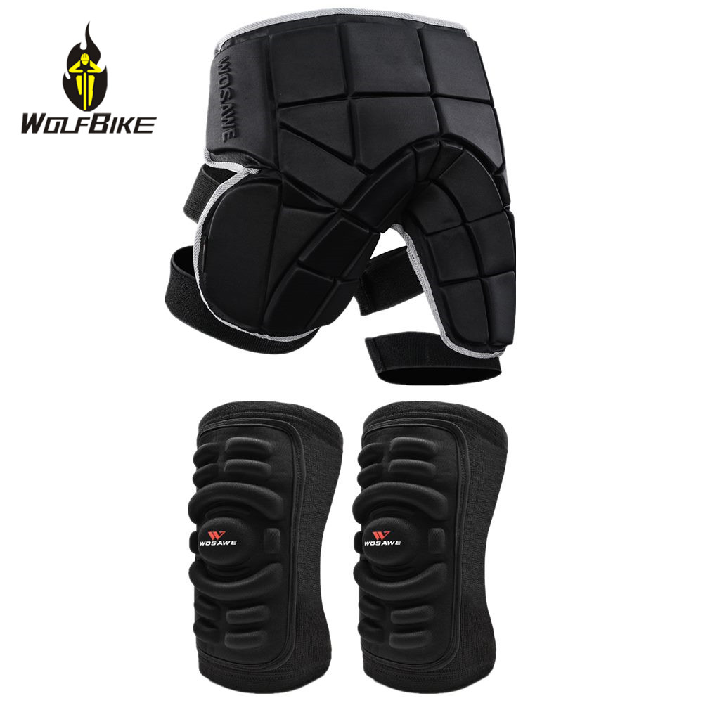 Wolfbike Sports Knee Pads Protector Kneepad Skiing Goalkeeper Soccer Football