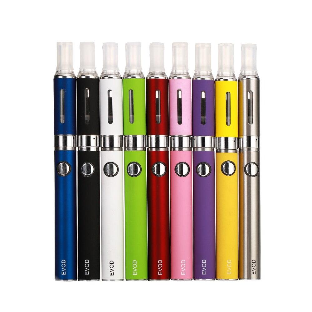 Evod Blister Kit Electronic Cigarette Atomizer 650mAh 900mAh 1100mAh  Logo Battery E Cigarettes 10 Colors