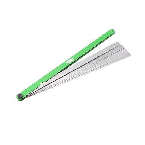 Calibre de Alimentação 300mm de Aço Uxcell Gage Inoxidável Longo Folhas 0.02mm-1.0mm Diferença Grossa 17