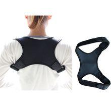 Adult Kids Breathable Back Posture Corrector Adjustable Side Straps Clavicle Spine Shoulder Brace Support Belt Orthosis Corset