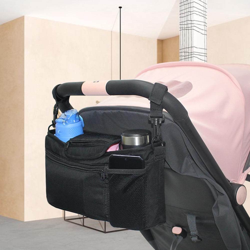 Bag Storage-Organizer Nappy Hanging-Basket Baby-Stroller-Bag Mummy-Bag Diaper Feeding-Bottle