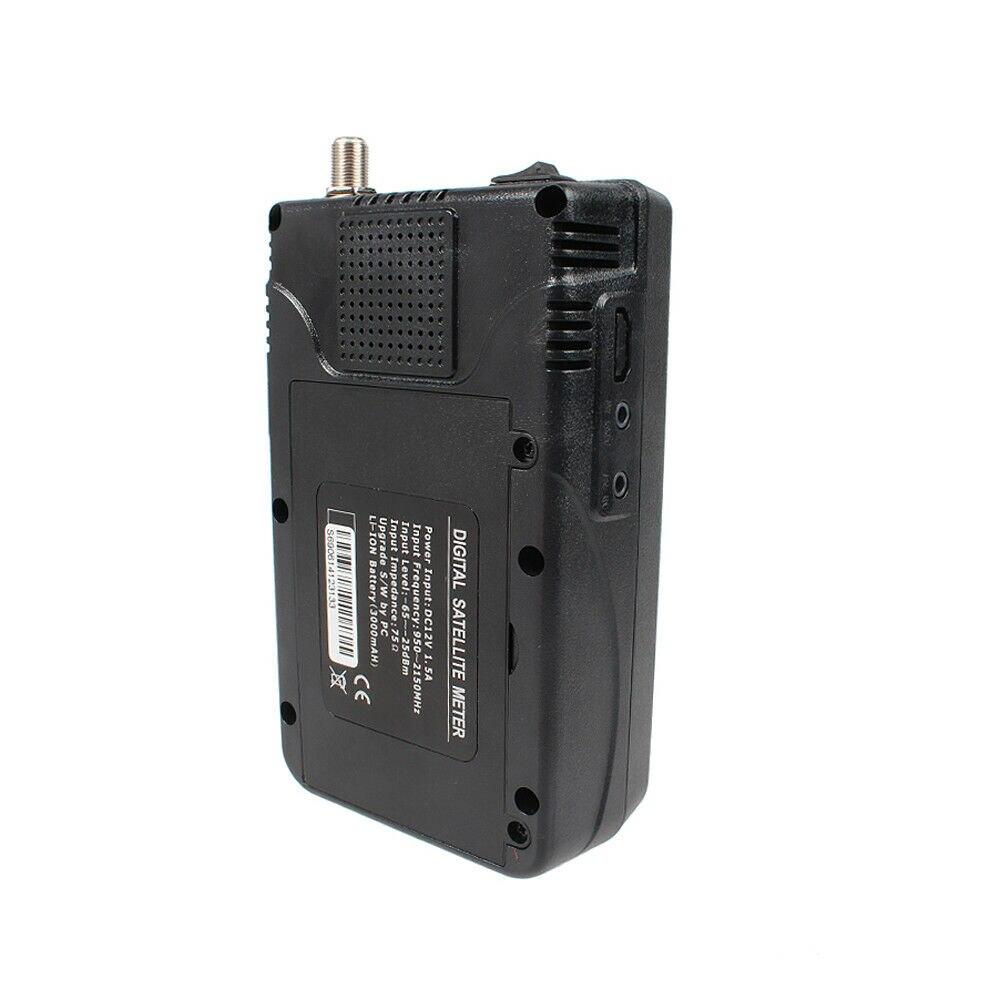 """Высокое качество цифровой по ссылке метр WS-6906 3.5"""" ЖК-дисплей FTA цифровой спутниковый метр спутниковый Искатель WS6906 Сатлинк приемник"""