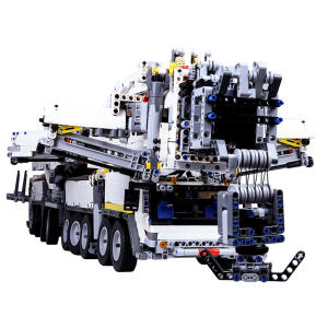 Model Crane Building-Block Small MOC with Rc-Motor 7692pcs Gift-Kit Particles-Assembly